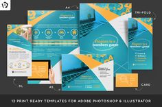 eFinance Brochure Template Pack @creativework247