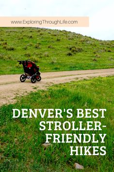 Are you looking for a kid-friendly hike in the Denver area? Have you thought about taking a stroller? Check out these stroller-friendly hikes in Denver, Colorado! Explore the Denver foothills with kids in tow. Colorado Hiking, Denver Colorado, Colorado Mountains, Colorado Springs, Denver Travel, Travel Oklahoma, Hikes Near Denver, Visit Denver, Bucket List Family