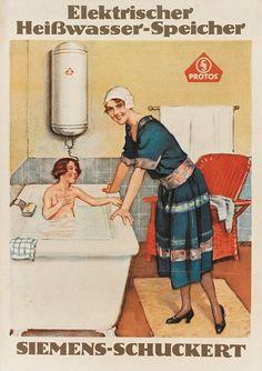 #Siemens #advertising from 1927. // Siemens #Werbung von 1927. #vintage #poster#history #enjoysiemens