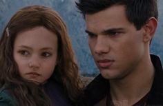Jacob and Renesmee.