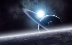 Space Nebula Surface Wallpaper