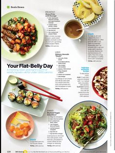 Flat belly day women's health mag