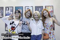 150713 Kiss the Radio SNSD Yoona Sooyoung Hyoyeon Seohyun