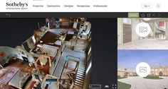 "Sotheby's International Realty is breaking new ground in the real estate technology world as a forerunner in online 3D and virtual reality home tour integration.""Listing portals are known for"
