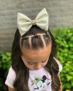 Girl hairstyles 78672324728928540 - A quick style that I did on Hailey yesterday. Three topsy tail sections pulled into a high halfup style. I added one of our new bows… Source by Toddler Hair Dos, Easy Toddler Hairstyles, Easy Little Girl Hairstyles, Cute Hairstyles For Kids, Childrens Hairstyles, Girl Toddler, Girls Hairdos, Lil Girl Hairstyles, Hairstyle For Baby Girl