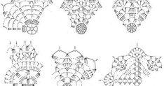 Zawieszki na choinkę                                                                                           ... Crochet Snowflake Pattern, Christmas Crochet Patterns, Crochet Snowflakes, Crochet Patterns Amigurumi, Crochet Doilies, Crochet Christmas Decorations, Crochet Ball, Crochet Angels, Christmas Accessories