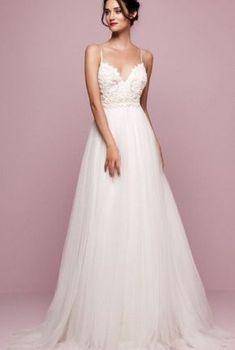 dfe8874685103b238440c65e80d7d7c8 - #dfe8874685103b238440c65e80d7d7c8 Wedding Dresses With Straps, Bridal Dresses, Wedding Gowns, Prom Dresses, Perfect Bride, Types Of Dresses, Wedding Styles, Marie, Clothes
