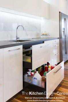 Warrandyte - The Kitchen Design Centre Kitchen Cupboard Shelves, Kitchen Butlers Pantry, Barn Kitchen, Kitchen Island Decor, Kitchen Organization Pantry, Rustic Kitchen, New Kitchen, Kitchen Storage, Family Kitchen