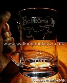 www.walkingonglass.co.uk www.facebook.com/walkingonglass.co.uk @Glassforwalkers   Bottoms Up #walk #walking 22.5 Miler from Hoghton Tower #lancashirehour #samlesbury #Brinscall #UK #bespoke #gift http://t.co/MBTqz9AQmy