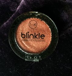 J Cat Blinkle eye shadow Tangerine Light it's actually a richer color than it looks here. Really pretty but I have a few similar colors already.