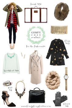 Comfy Cozy Couture Gift Guide: For the Fashionista | Christmas Gifts for the Ladies | Fashion Picks for the Holidays