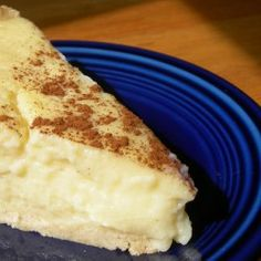 Milk Tart | The DnA Foodcast Custard Recipes, Baking Recipes, South African Recipes, Ethnic Recipes, Melktert, Sweet Tarts, Deserts, Sweets, Traditional