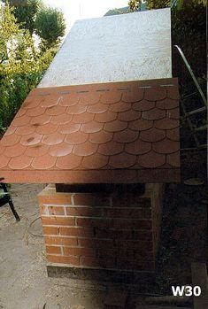 Od projektu, do wędzonek - czyli jak Wojtek Minor budował wędzarnię Smoke House Plans, Smoke House Diy, Barbacoa, Smoking, Camper, Gardens, Backyard, Construction, Food