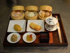 Blogger Kathy YL Chan tried Man Wah's dim sum showcase in Mandarin Oriental, New York