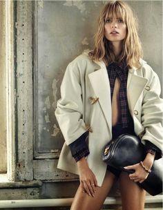 visual optimism; fashion editorials, shows, campaigns & more!: el fin de la inocencia: julia stegner by alex cayley for vogue spain november...