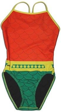 Aquaman swimsuit. Yes.  Take a Splash This Summer with Splish's Super-Swimwear! [Fashion] - ComicsAlliance | Comic book culture, news, humor, commentary, and reviews