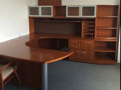 Gunlocke Executive U Shaped Desk