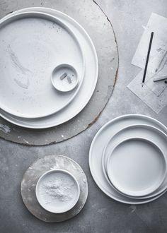 VIKTIGT schalen | #IKEA #IKEAnl #limited #collectie #serveren #opdienen #eten #modern #wit #servies