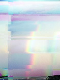 Rainbow Bender (Glitch Art) Travis Morgan. @thecoveteur