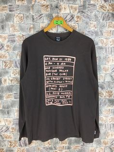 Vintage KEITH HARING T shirt Large 90 s Keith Haring Memorial Date Artwork  Long Sleeves Haring Pop 87a2dc1a4