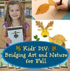 Collect leaves and create a critter! Click for details.