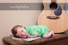 Use tab books & guitar Infant Photography, Children Photography, Photography Ideas, Newborn Pics, Newborn Pictures, Baby Family, Family Pics, Picture Ideas, Photo Ideas