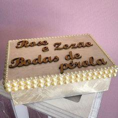 #casamento #bodas #presente #caixa com pérolas  #arte  #noivas  #aniversario #artesanato #anapolis #lembranças