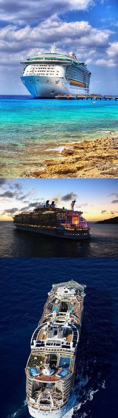 Sister Ship Allure - Cruise to Caribbean Islands on Allure of the seas - The largest cruise ship ever! - boarding at Fort Lauderdale in Florida, USA