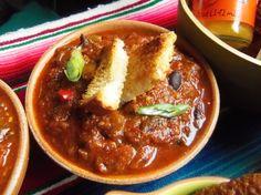 Cowboy Cactus Pork Chili - Hispanic Kitchen