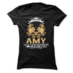 AMY . Team AMY Lifetime member Legend  - T Shirt, Hoodie, Hoodies, Year,Name, Birthday - T-Shirt, Hoodie, Sweatshirt