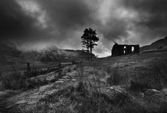 Cwmorthin Chapel, Snowdonia