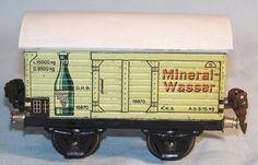 """Märklin 16870 Ged. Güterwagen """"Göppinger Sprudel"""", Spur 0, 30er (33202)"""