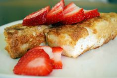 Madison's Angel Food Cake French Toast - great for Easter brunch!