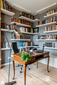 Gabinet styl Nowoczesny - zdjęcie od TiM Grey Projektowanie Wnętrz - Gabinet - Styl Nowoczesny - TiM Grey Projektowanie Wnętrz