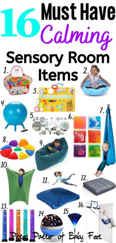 16 Sensory Room Products For Children With SPD And Autism ~