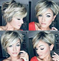 Very Short Hair, Short Hair With Layers, Short Hair Cuts For Women, Short Hairstyles For Women, Short Haircuts, Edgy Hairstyles, Curly Short, Hairstyle Short, Perfect Blonde Hair