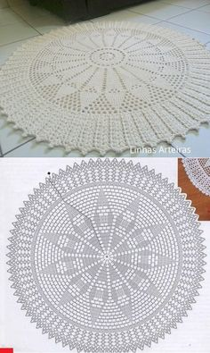 Crochet Yarn Crochet Doilies Scarf Hat Crochet Christmas Origami Crochet Carpet Pinafore Dress Tips Trapper Keeper Filet Crochet, Crochet Doily Rug, Crochet Doily Diagram, Crochet Rug Patterns, Crochet Carpet, Crochet Circles, Crochet Doily Patterns, Crochet Tablecloth, Crochet Round