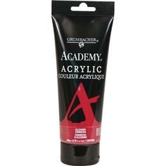 Grumbacher Academy Acrylic Paint Size: 2.54 oz, Color: Naples Yellow