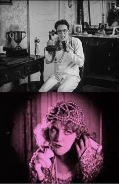 Harold Lloyd and Mildred Davis, Get Out and Get Under, (1920)