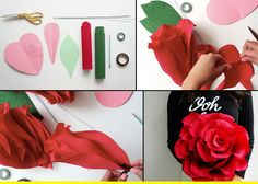 Make your own flower.