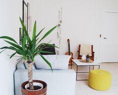 Our scandi / boho living room - Nørrebro Summers | Lily.fi