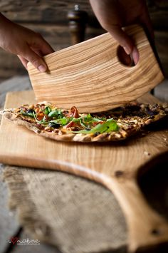 Handcrafted pizza knife