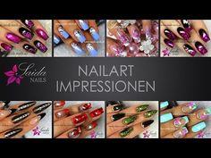 Chanel Bag Nail Art (Nailart leicht gemalt | Saida Nails) - YouTube