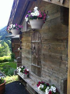 L'été au Chalet de L'Hotel du Jeu de Paume Chamonix
