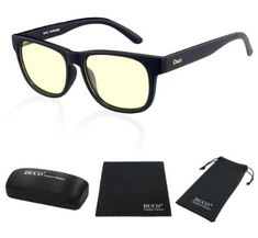 c7ffe7c7dcf DUCO Blue Light Blocking Glasses Gamer Glasses and Computer Eyewear Anti-Glare  Protection