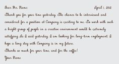How to Write: Ideal Business Correspondence Notes - The European Paper Company Thank You Note Wording, Thank You Letter, Writing Thank You Cards, Thank You Card Examples, Interview Thank You Notes, Thanks Words, Business Correspondence, Business Letter, Paper Companies