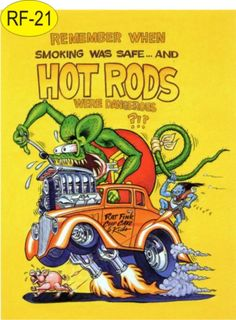 Rat Fink Hot Rod Art | Placas Em Pvc Rat Fink Hot Rods Rat Rods Hood Ride