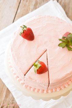 Strawberry Supreme Cake