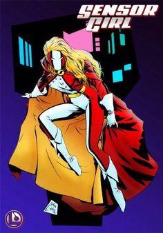 Legion of Super-Heroes - Sensor Girl aka Princess Projectra (LSH / DC Comics)