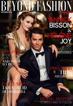 "Yannick Bisson and Hélène Joy Talk ""Murdoch Mysteries"" - Beyond Fashion Magazine Sharknado 6, Murdock Mysteries, Canadian Culture, Detective Shows, Plus Tv, Rich Family, Vito, Celebrity Look, Detective"
